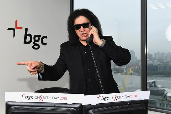 Gene Simmons At BGC Charity Day