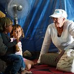 Vanessa Redgrave Meets Children And Young People In Lebanon