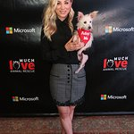 Stars Attend Much Love Animal Rescue and Microsoft Lounge Spoken Woof Event