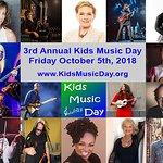 Stars Support 2018 Kids Music Day