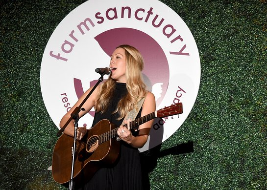 Colbie Caillat Performs at Farm Sanctuary On the Hudson