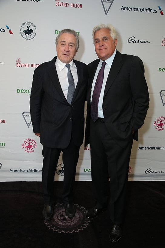 Robert De Niro and Jay Leno at Carousel of Hope Gala