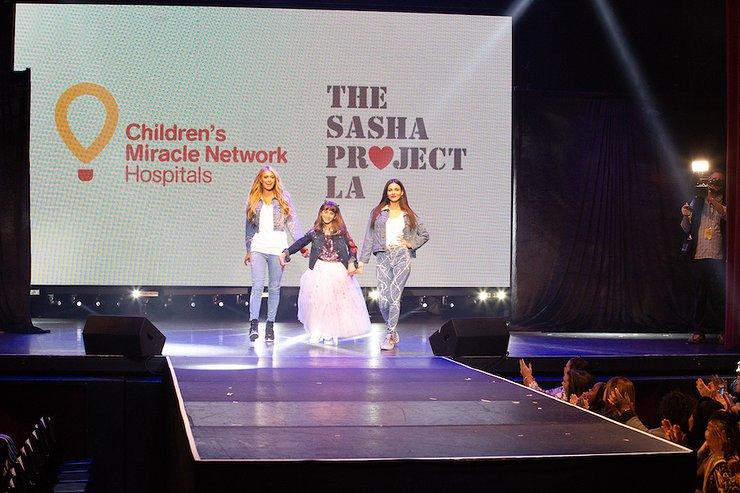 Paris Hilton and Victoria Justice Rock The Runway With Sasha