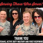 Paul Stanley And Gene Simmons Of KISS To Honor Armed Forces And First Responders On Veterans Day