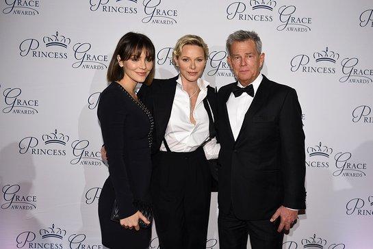 Katharine McPhee, Her Serene Highness Princess Charlene of Monaco, David Foster