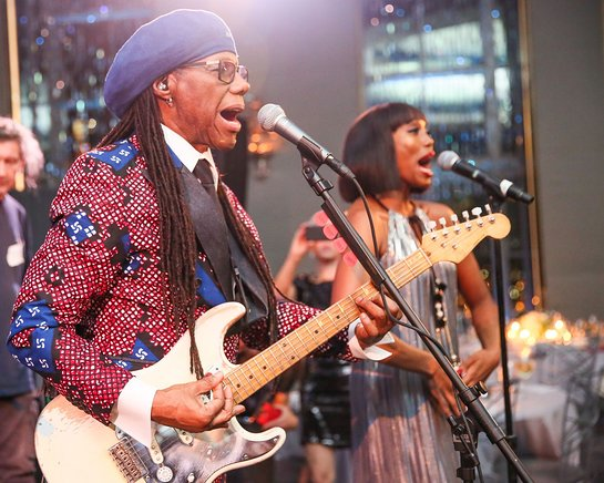 Nile Rodgers and CHIC Perform at Oceana New York Gala
