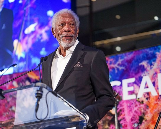 Morgan Freeman at Oceana New York Gala