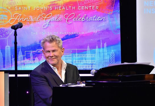 David Foster at Saint John's Health Center Gala
