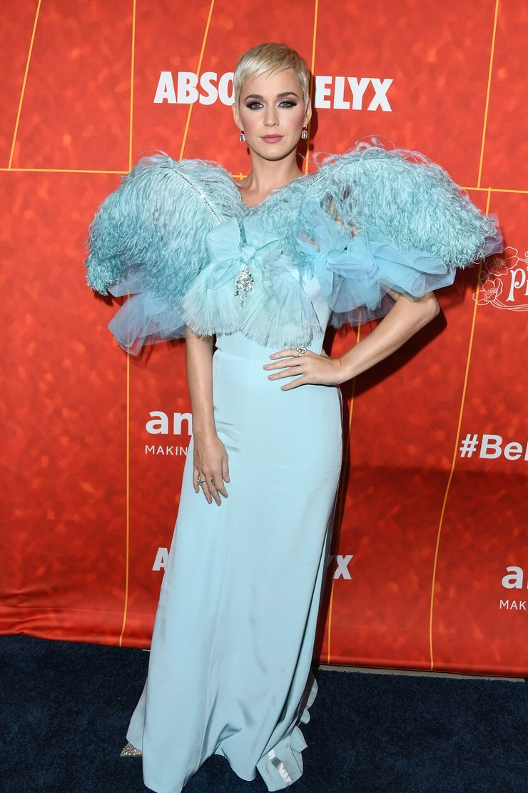 Katy Perry at amfAR Gala Los Angeles 2018