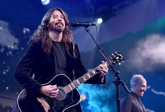 Dave Grohl of the Foo Fighters performs onstage at the 2018 Children's Hospital Los Angeles