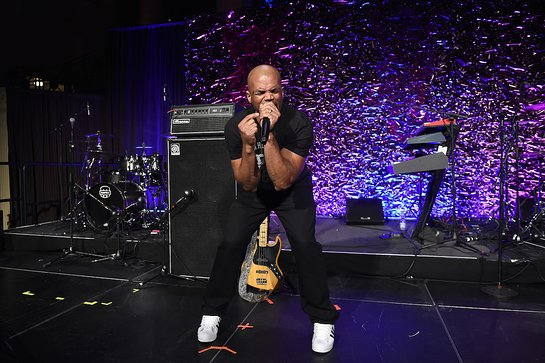 Darryl DMC McDaniels performs onstage at the 2018 Angel Ball
