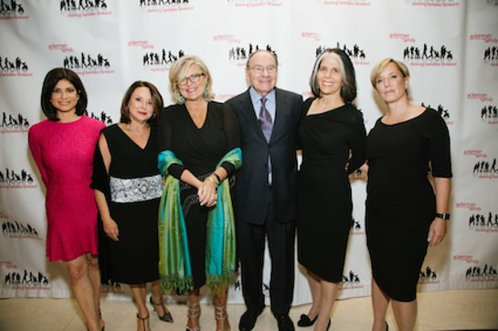 Tamsen Fadal, Gisselle Acevedo, Cynthia McFadden, Arnold Syrop, Lois Braverman and Martha Fling