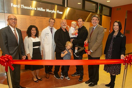 Alan Wayne, MD; Araz Marachelian, MD; James Stein, MD; Ryan Murphy and son Logan; David Miller and son Ford; Paul Viviano; Alexandra Carter