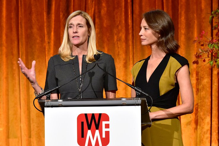 Andrea B. Smith and Christy Turlington Burns