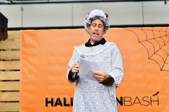 Jerry Seinfeld at the 3rd Annual Halloween Bash