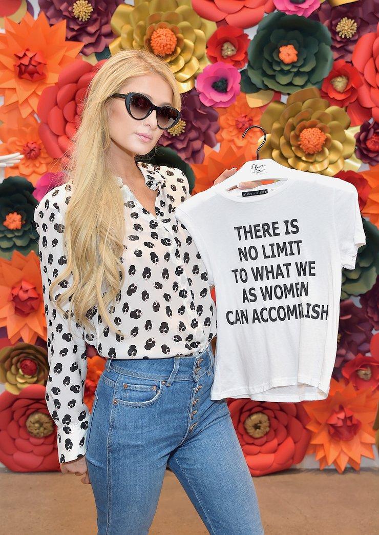 Paris Hilton Attends Shop To Erase MS