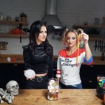 Lucy and Tiffany Watson Reveal the Scary Side of Gelatine Sweets this Halloween