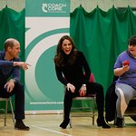 The Duke and Duchess of Cambridge Visit Coach Core in Essex