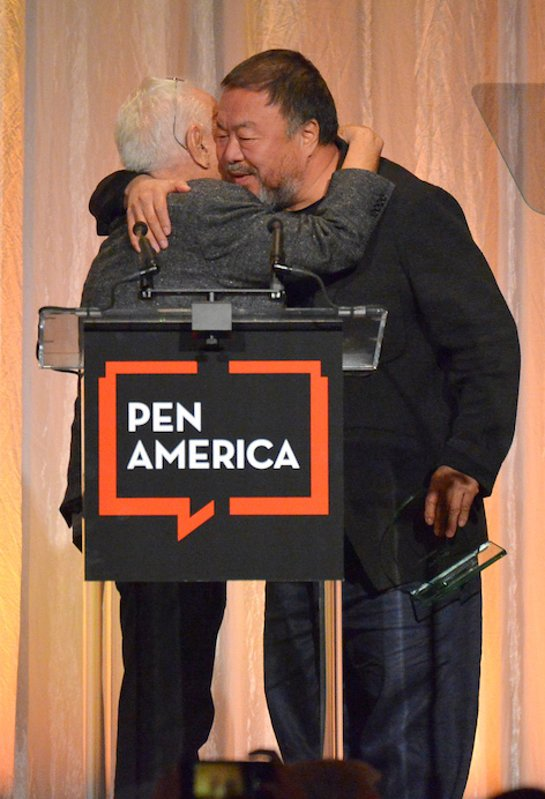 Ai Weiwei Honored at PEN America 2018 LitFest Gala