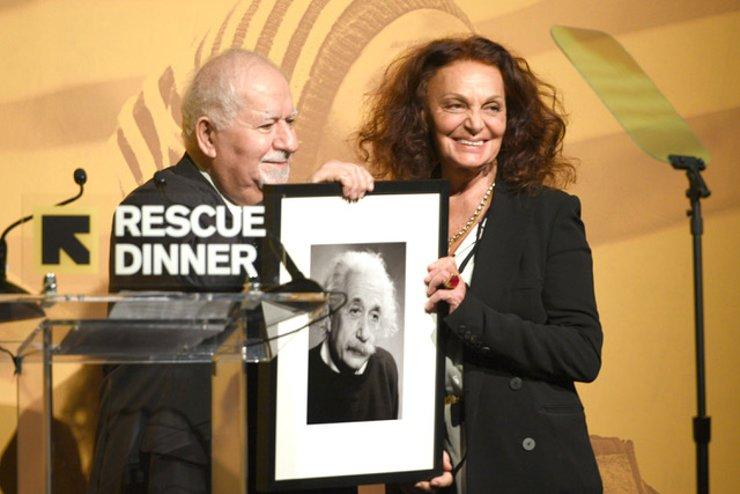 Diane von Furstenberg Honored at International Rescue Committee Rescue Dinner
