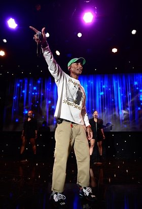 Pharrell Williams Performs at Making a Difference: 70 Years of Heroes and Hope