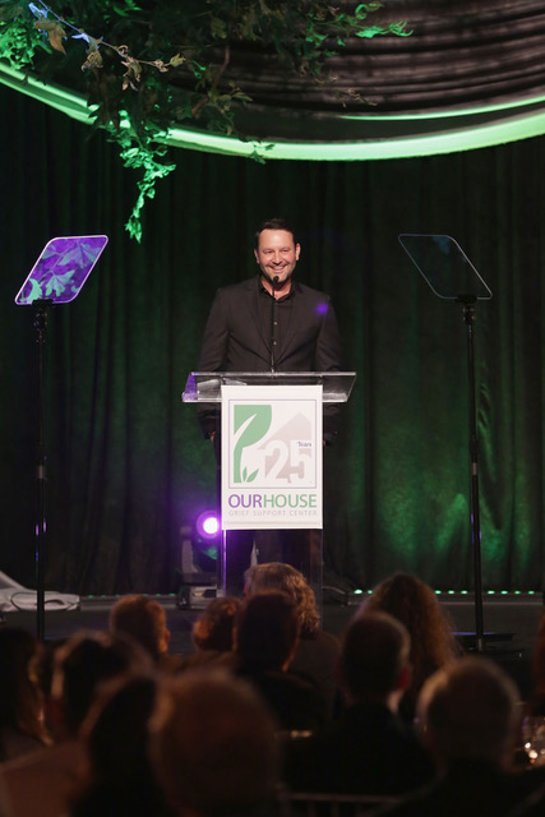 This Is Us writer and creator Dan Fogelman at OUR HOUSE Grief Support Center's House of Hope Gala
