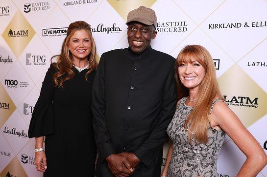 Kathy Ireland, Bill Duke, Jane Seymour