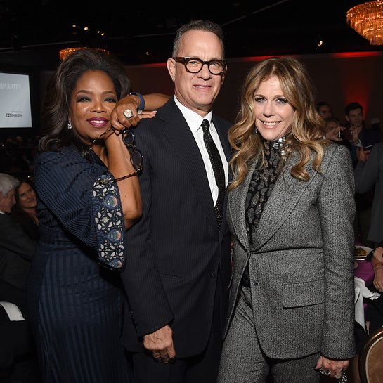 Oprah, Tom Hanks, Rita Wilson