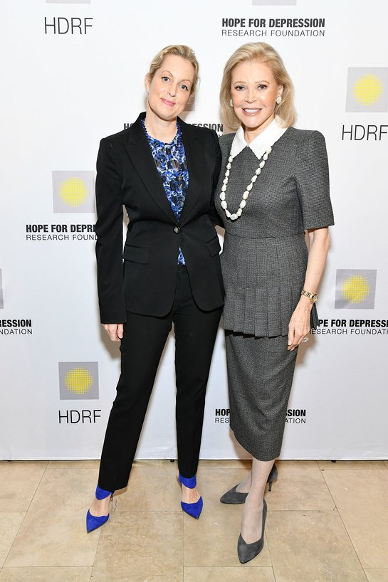 Ali Wentworth and Audrey Gruss