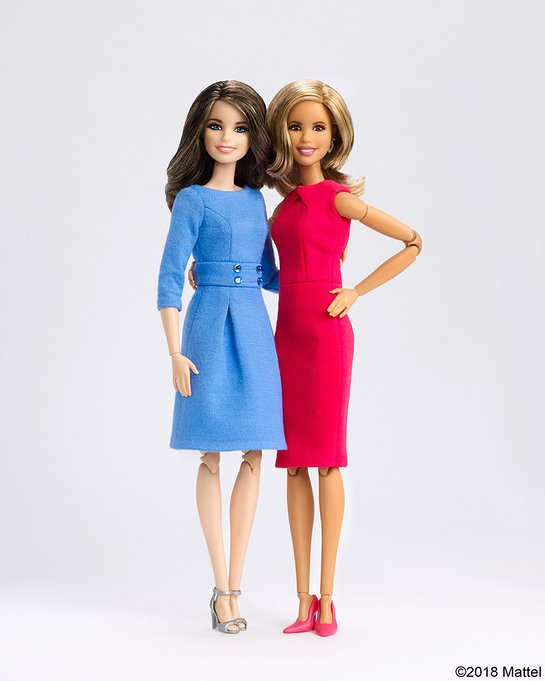Barbie honors journalists Savannah Guthrie and Hoda Kotb as role models