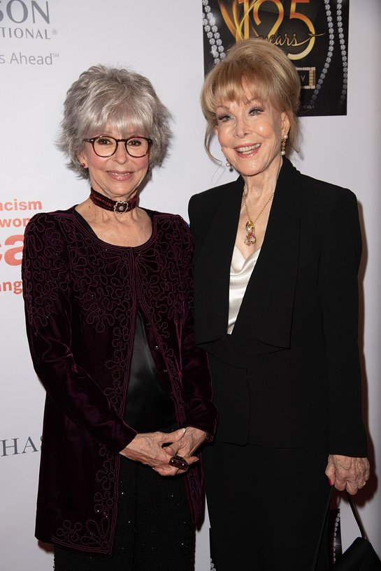 Rita Moreno and Barbara Eden