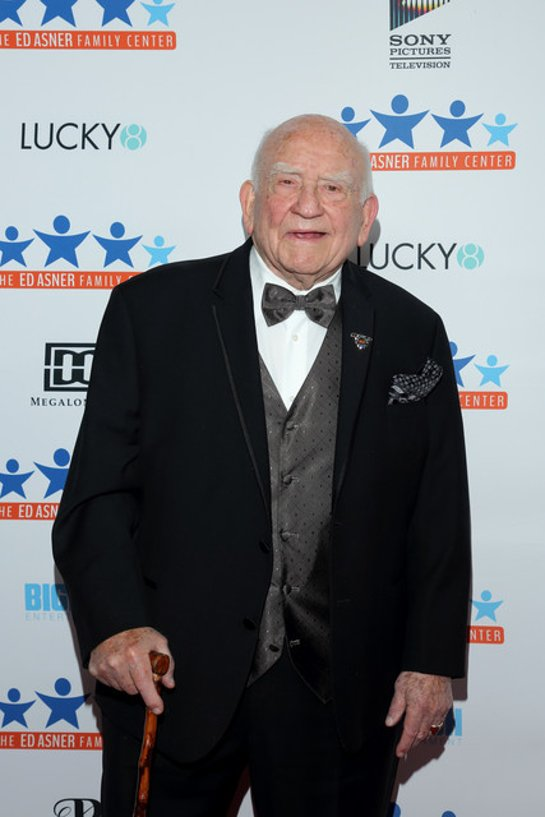Ed Asner at Night of Dreams Gala