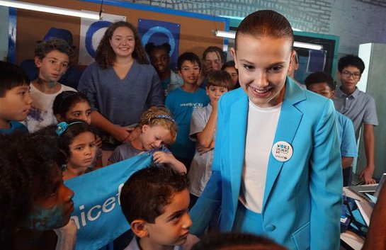 Millie Bobby Brown named UNICEF Goodwill Ambassador