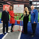 Meghan Trainor Kicks Off 128th Red Kettle Campaign With Live Halftime Performance