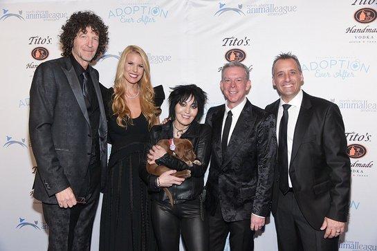 Howard Stern, Beth Stern, Joan Jett, Elvis Duran, and Joe Gatto