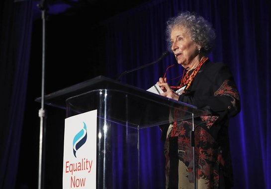 Margaret Atwood at Equality Now's Make Equality Reality Gala