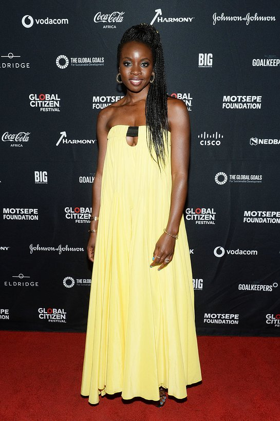 Danai Gurira at Mandela 100 Global Citizen Festival