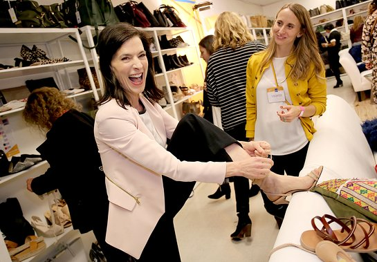 Perrey Reeves co-hosts the Shop for Success VIP Opening, benefitting Dress For Success Worldwide West LA