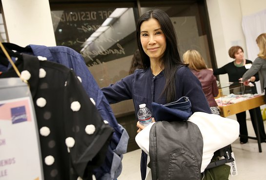 Actress/Journalist Lisa Ling attends and shops at the Shop for Success VIP Opening, benefitting Dress For Success Worldwide West LA