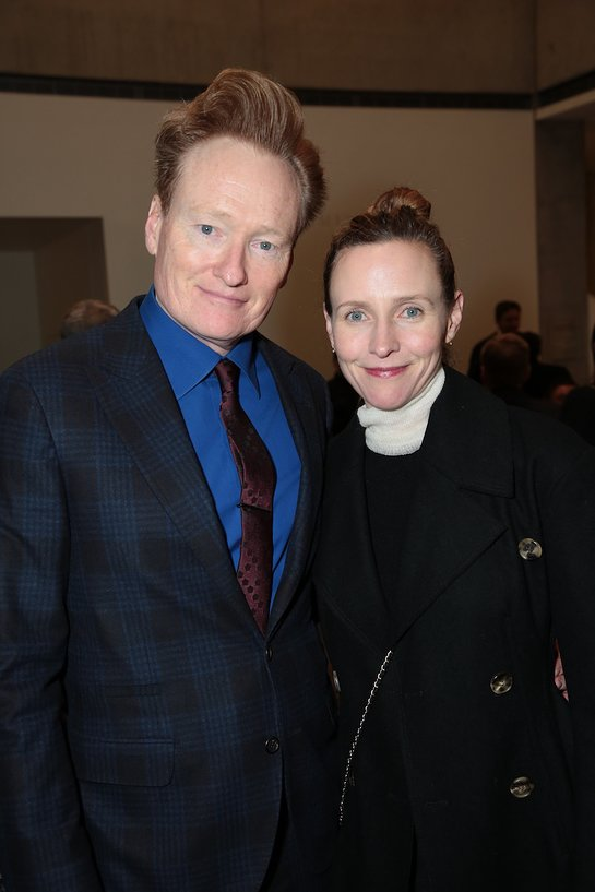 Liza and Conan O'Brien at Children's Defense Fund-California's Beat The Odds Awards 2018