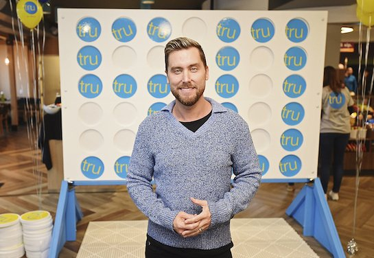 Lance Bass hosts the Tru Connections event
