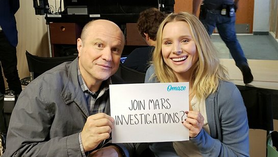 Hang with Kristen Bell on the Veronica Mars Set