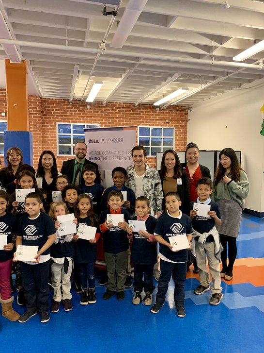 Jake T. Austin Brings Holiday Cheer During Surprise Visit to Boys and Girls Club of Hollywood