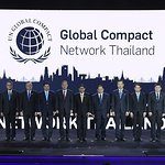 Ban Ki-moon Attends Launch of Global Compact Network Thailand For Sustainable Development