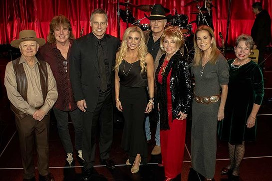 Charlie McCoy, Tim Atwood, Matt Baugher, Julie Roberts, Paul Allen Coons, Jeannie Seely, Kathie Lee Gifford and Sarah Martin