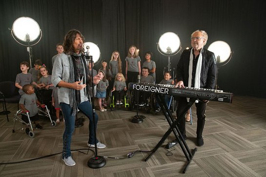 FOREIGNER Donates Worldwide Hit Song to Shriners Hospitals for Children
