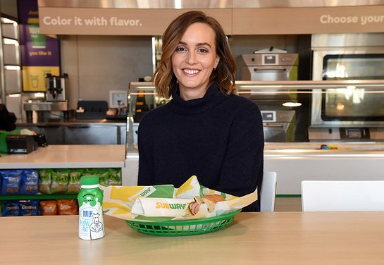 Leighton Meester kicks off the new year fighting hunger