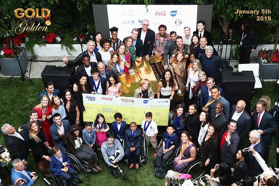 Guests attend The 6th Annual Gold Meets Golden Brunch