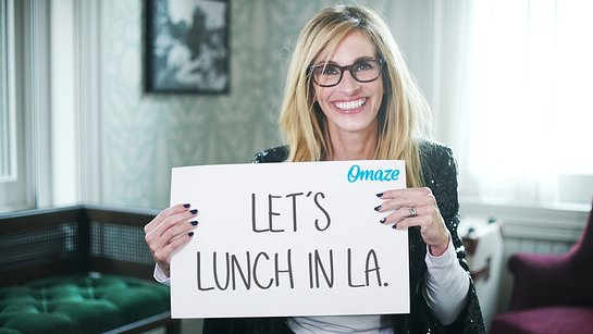 Join Julia Roberts for Lunch