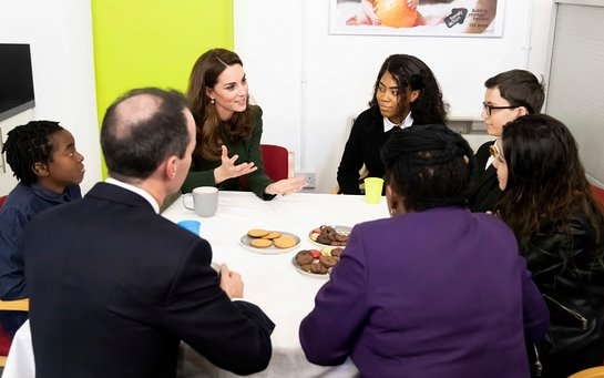Duchess of Cambridge Visits Family Action's Lewisham Base